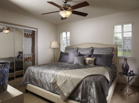 Bedroom at Camden Doral Apartments in Doral, FL