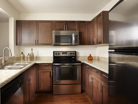 Kitchen at Camden Doral Apartments in Doral, FL