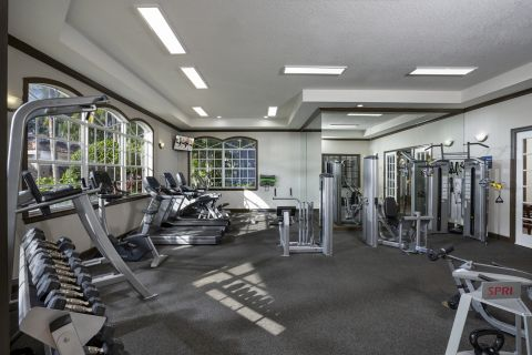 Fitness Center at Camden Doral Apartments in Doral, FL