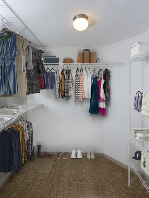 Walk-In Closet at Camden Doral Apartments in Doral, FL