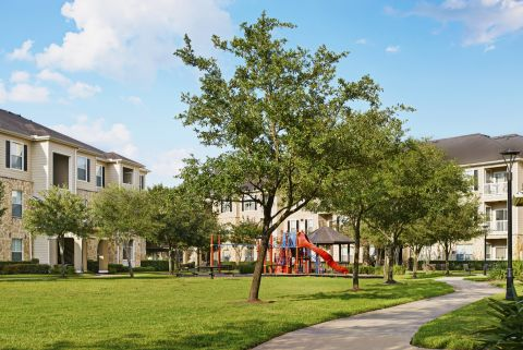 Playground, Trails, and Picnic Area at Camden Downs at Cinco Ranch Apartments in Katy, TX