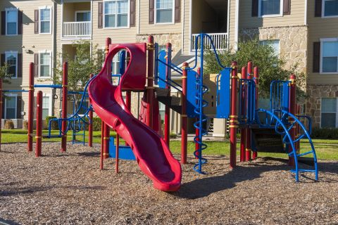 Private Playground at Camden Downs at Cinco Ranch Apartments in Katy, TX