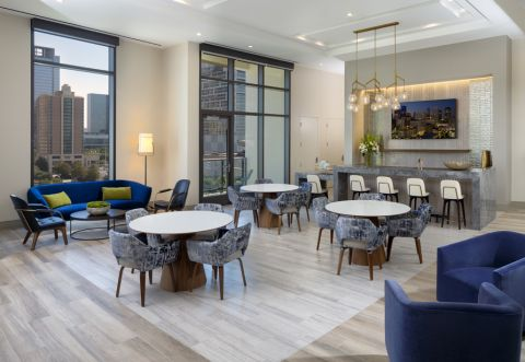 Event space at Camden Downtown Houston Apartments in Houston, Texas