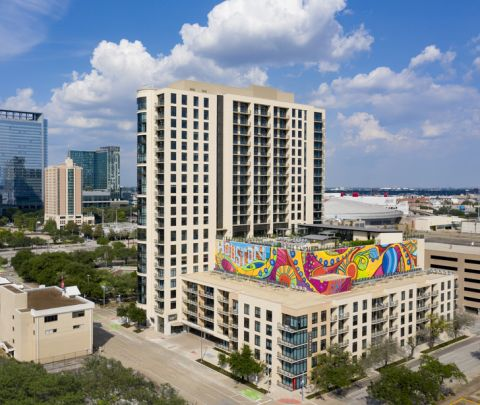 Camden Downtown Houston Apartments in Houston, Texas