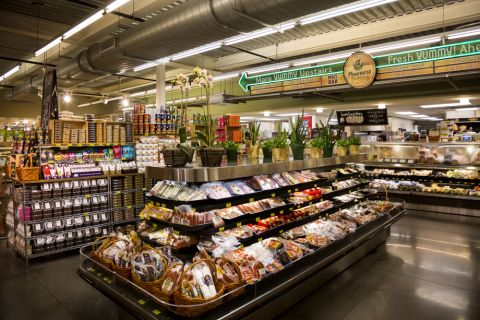 Phoenicia Grocery Store within walking distance to Camden Downtown Houston apartments in Houston, Texas