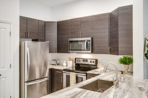 Camden Dulles Station Apartments in Herndon, VA New Kitchen