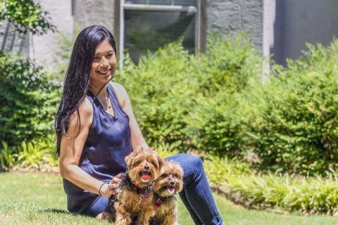 Pet-friendly living at Camden Dunwoody Apartments in Dunwoody, GA
