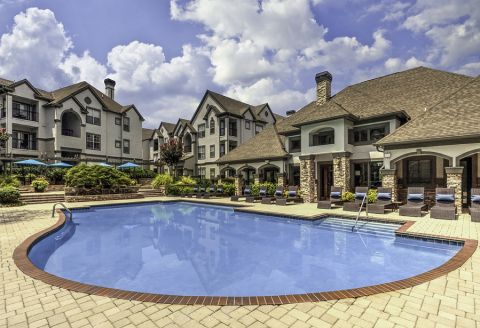 Swimming Pool at Camden Dunwoody Apartments in Dunwoody, GA