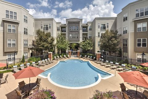 Pool at Camden Fairfax Corner Apartments in Fairfax, VA