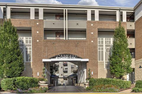 Entryway at Camden Fairfax Corner Apartments in Fairfax, VA