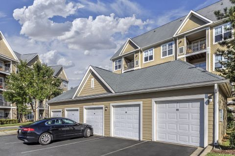 Garages at Camden Fallsgrove Apartments in Rockville, MD