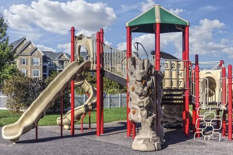 Playground at Camden Fallsgrove Apartments in Rockville, MD