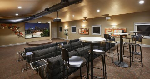 Movie Theater at Camden Farmers Market Apartments in Dallas, TX
