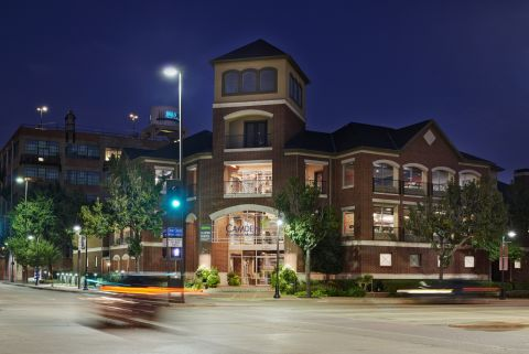 Exterior of Building at Camden Farmers Market Apartments in Dallas, TX