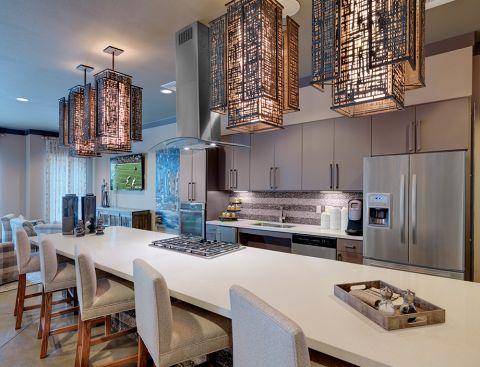 Resident Lounge Kitchen at Camden Flatirons Apartments in Interlocken, CO