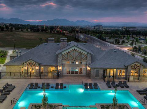 Mountain Views at Camden Flatirons Apartments in Interlocken, CO