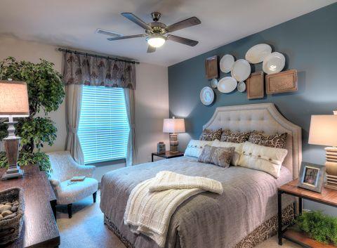 Bedroom at Camden Flatirons Apartments in Interlocken, CO