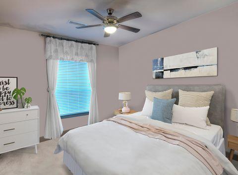 Large Bedroom at Camden Flatirons Apartments in Interlocken, CO