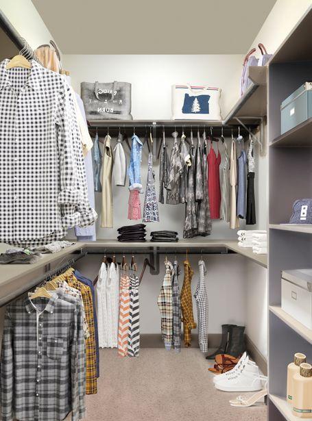 Walk-In Closet at Camden Flatirons Apartments in Interlocken, CO