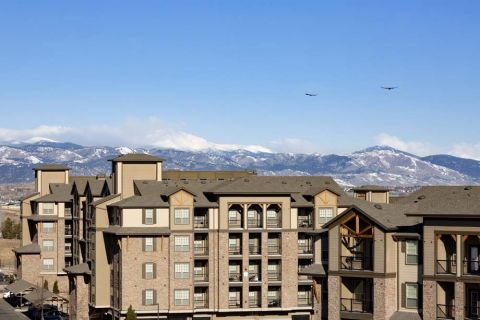 Apartment Views at Camden Flatirons Apartments in Interlocken, CO