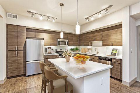 Kitchen at Camden Foothills Apartments in Scottsdale, AZ