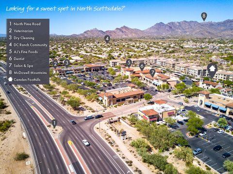 Neighborhood around Camden Foothills Apartments in Scottsdale, AZ