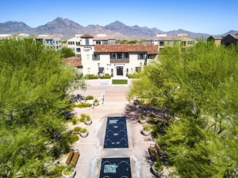 Entrance to Camden Foothills Apartments in Scottsdale, AZ
