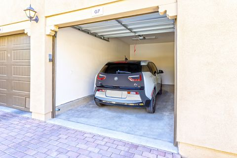 Spacious garages at Camden Foothills Apartments in Scottsdale, AZ