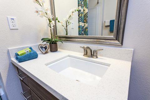 Bathroom at Camden Foothills Apartments in Scottsdale, AZ
