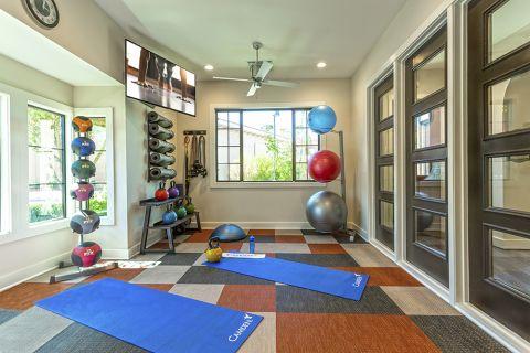 Yoga Studio at Camden Foothills Apartments in Scottsdale, AZ