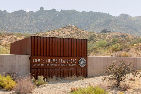 Tom's Thumb Trailhead near Camden Foothills Apartments in Scottsdale, AZ