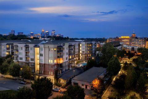 Exterior at Camden Fourth Ward Apartments in Atlanta, GA