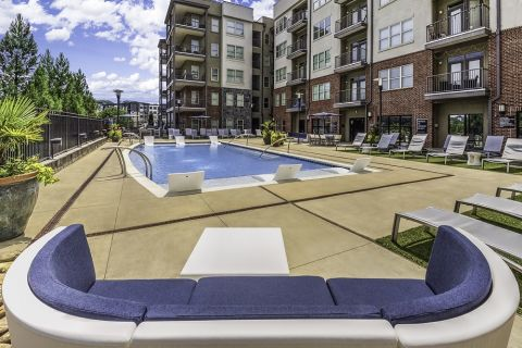Pool at Camden Fourth Ward Apartments in Atlanta, GA