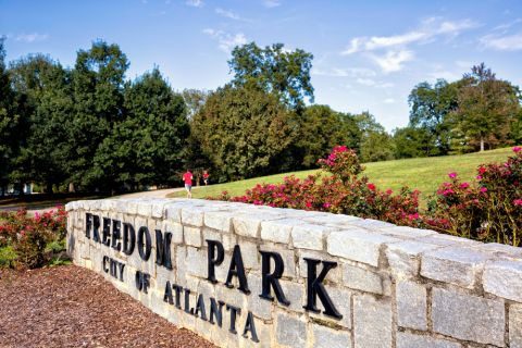 Freedom Park near Camden Fourth Ward Apartments in Atlanta, GA