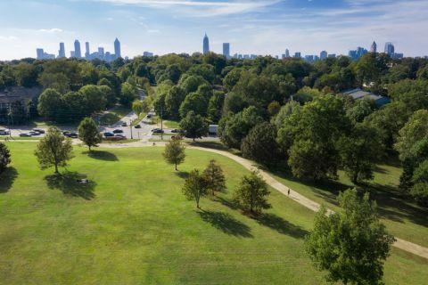 Freedom Park with Skyline Views near Camden Fourth Ward Apartments in Atlanta, GA
