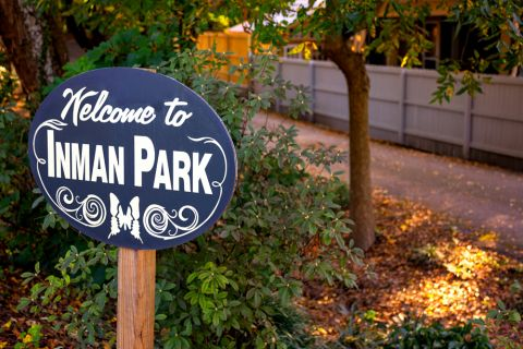 Inman Park near Camden Fourth Ward Apartments in Atlanta, GA