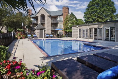 Second pool at Camden Foxcroft in Charlotte, North Carolina