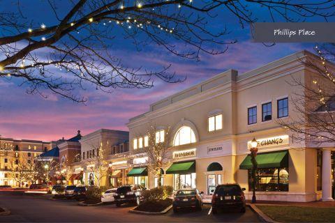 Phillips Place in SouthPark Charlotte near Camden Foxcroft in Charlotte, North Carolina