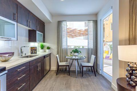 Dining Room in Studio Floor Plan at Camden Glendale Apartments in Glendale, CA