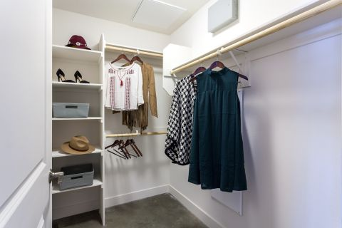 Walk In Closet at Camden Glendale Apartments in Glendale, CA
