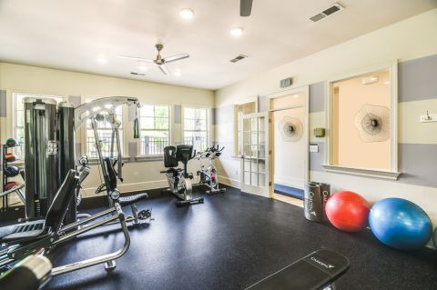 Fitness Center at Camden Governors Village Apartments in Chapel Hill, NC