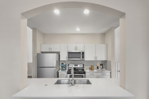 Spacious kitchen at Camden Governors Village Apartments in Chapel Hill, NC
