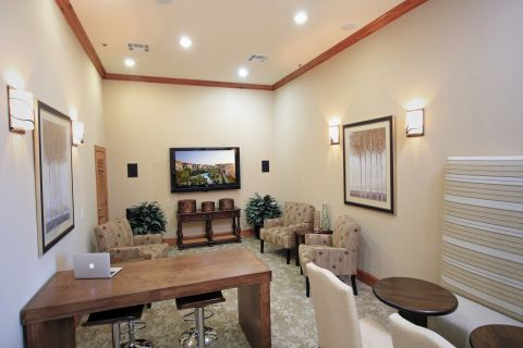 Resident Lounge at Camden Grand Harbor Apartments in Katy, TX