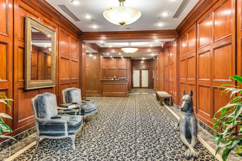 Lobby at Camden Grand Parc Apartments in Washington, DC