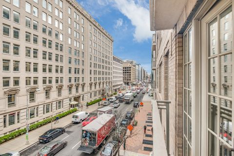 Street View from Your Home at Camden Grand Parc Apartments in Washington, DC