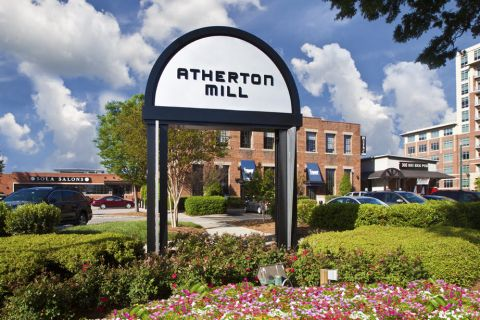 Atherton Mill shopping and dining near Camden Grandview Apartments and Townhomes in Charlotte, NC