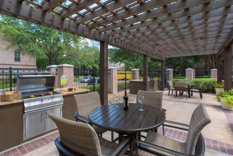 BBQ Grills at Camden Greenway Apartments in Houston, TX