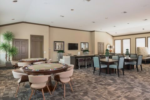 Game Room at Camden Greenway Apartments in Houston, TX