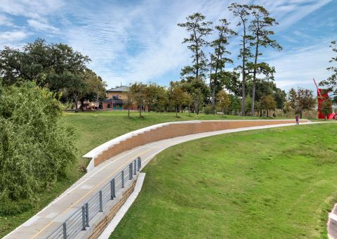 Direct Access to Hike and Bike Trail at Camden Heights Apartments in Houston, TX