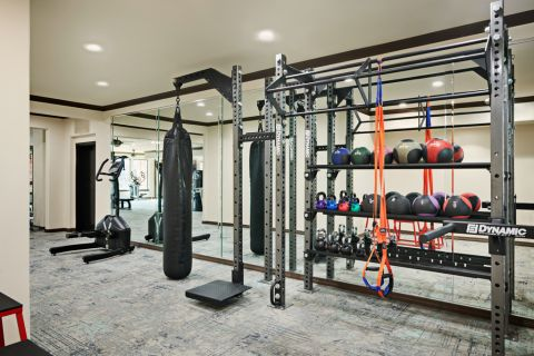 Fitness Center at Camden Heights Apartments in Houston, TX